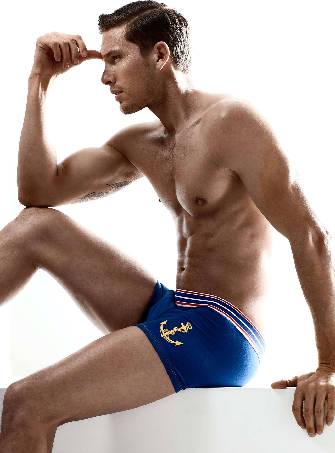 Adam Senn for Simons Underwear
