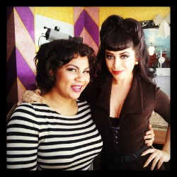 bettychantel:  My sweetheart @vintagevandal #beautybar  I love Betty