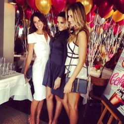 "COSMOPOLITAN'S 40TH BIRTHDAY IN SYDNEY - JODI GORDON-ANASTA, RACHAEL FINCH, LAURA DUNDOVIC As Elle Woods would say, Cosmo magazine is the modern woman's answer to the ""bible"". This month Australia's Cosmopolitan magazine celebrates its 40th birthday… and being the sassy, sultry and stylish publication that it is, it only makes sense to have a lavish birthday bash to celebrate. Yesterday Editor Bronwyn McCahon hosted a Cosmo birthday lunch at Otto Ristorante in Woolloomooloo and was joined by former editors Mia Freedman, Sarah Wilson and Pat Ingram. Some of Australia's hottest media personalities were also on hand to celebrate including Jodi Gordon-Anasta, Laura Dundovic, Rachael Finch and Zoe Foster. We've rounded up the hottest shots from the event including professional snaps and some social media pics (who doesn't love a cute celeb candid?) so get clicking through these posts! Image Source: Sweaty Betty PR Instagram"