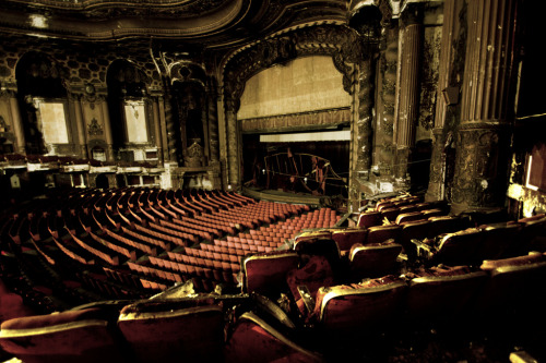abandonedography:  Abandoned theater - December 21, 2012 (by Ausibear)