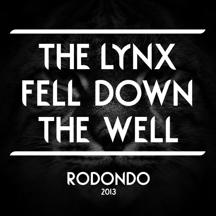 goodtypography:  The Lynx and the well. Typography by Olly Wood