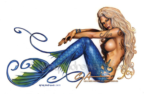 wildfins:  MERMAID 2 by *badass-artist