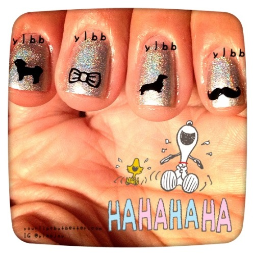 Nail sticker decal