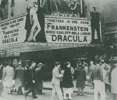 senzasouldino:  (via Frankenstein & Dracula tohether in one show (pics))