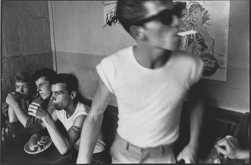 Bruce Davidson - Brooklyn Gang: Summer 1959