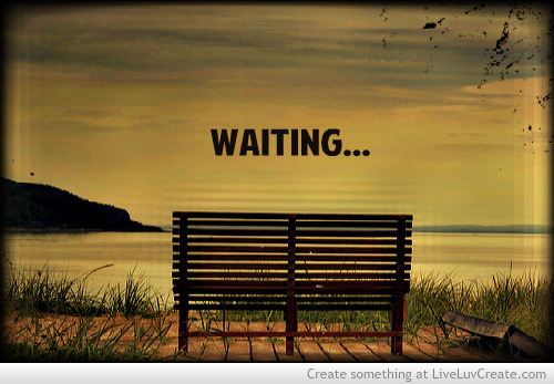 allaboutmeandme:  waiting… on We Heart It - http://weheartit.com/entry/51506480/via/buboreka