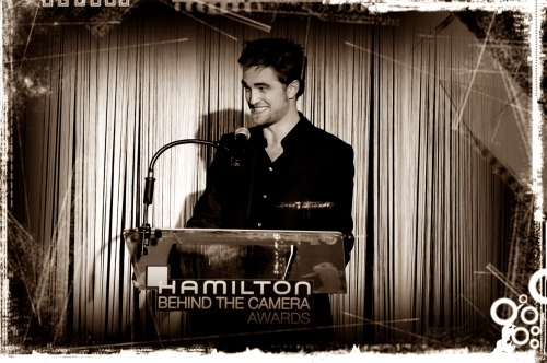 Robert Pattinson - Hamilton Behind the Camera Awards