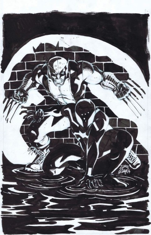 Scarlet Spider 18 original cover art now available on Cadence Comic Art!