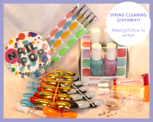 nailpopllc:  Happy spring everyone! I'll announce the winner on SATURDAY, so keep a look out! ❀ PS. Yes, those are all the essie resort collection colors and THEY'RE BEAUTIFUL SO I HAD TO SHARE o(≧∇≦o)  Facebook | Shop