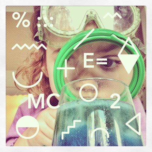 SES Part II #love #cute #girl #fun #gang_family #messyhair #science #experiment