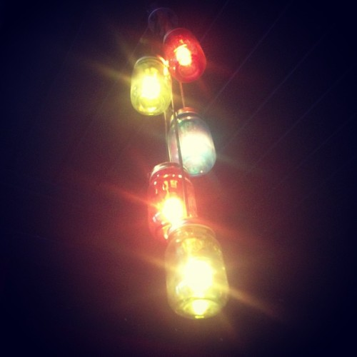 Lights (at Lucha Libre)