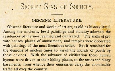 "dtxmcclain:  From the book: ""Secret Sins"" by C. E. Rogers, M. D., 1881"