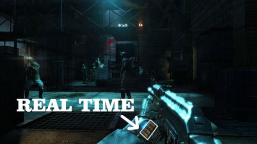 gamer-for-life:  More games need this [Metro Last Light] piles of gaming  I think more games will be incorporating this feature