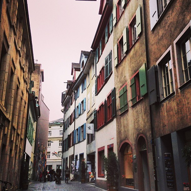 Row of Houses #switzerland #swiss #basel #street #europe #architecture #travel #iphoneography #iphoneonly #picoftheday #photooftheday #homes #houses #windows