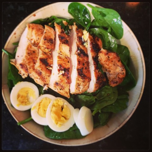skinnny-is-the-new-black:  lilys-losing-it:  Protein overload for lunch.  This actually looks so fucking good omg