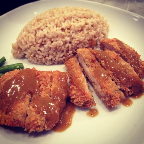 Chicken Katsu with Japanese Curry #foodie #food #instafood #foodporn #foodgasm #igers #igdaily #instagood