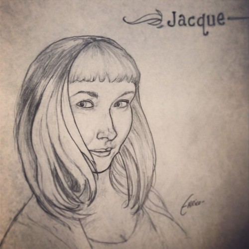 Drawing Jacque.