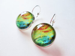 https://www.etsy.com/listing/150110860/nautical-galaxy-stunning-earrings?ref=shop_home_active BRAND NEW! One of my new designs in my line of fine art earrings! Handmade by me, Julia Di Sano - Owner/Artist of Ebi Emporium, using my original painting designs! Please come check out the entire line!~