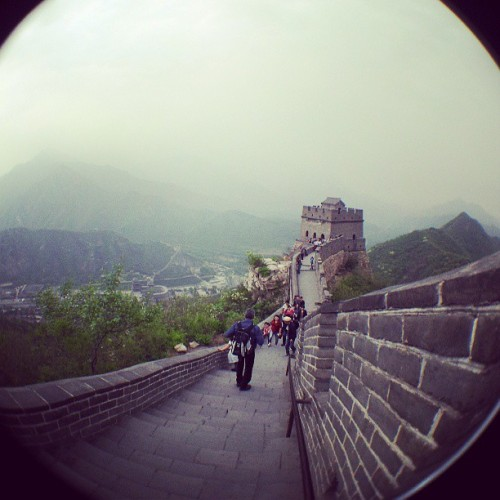 Just hanging out on the Great Wall of China! #China #Beijing #home