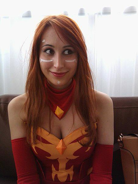 el-zayac:  Lina the Slayer (Cosplay) «3 so cute by ~Nasya-nassya