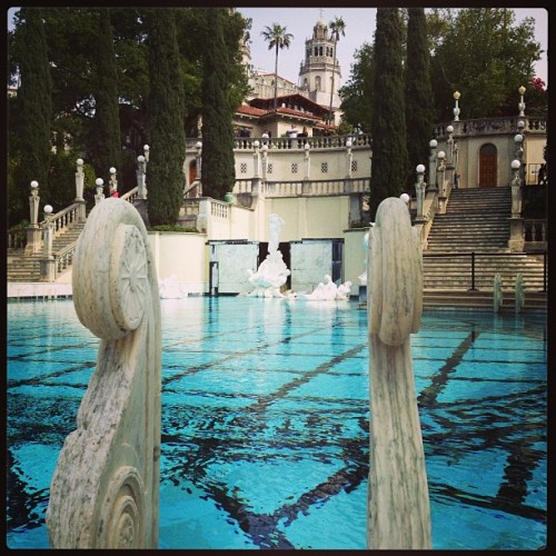 #pool #beautiful #blue #water #castle #lavish #thelife #neptunepool #hearstcastle @hearstcastle #wow  (at Hearst Castle Neptune Pool)