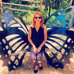 🐛 (at Zilker Botanical Gardens)