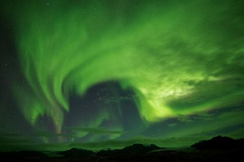 llbwwb:  Last night Aurora borealis (by Jonina)