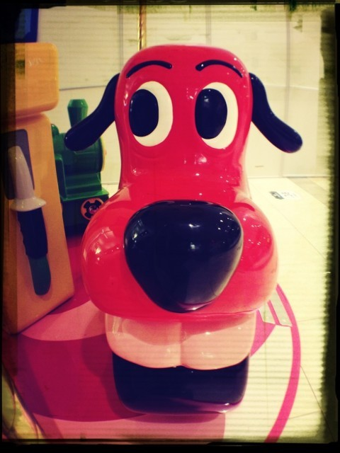 Creepy dog kiddie ride at Northpark Mall by Jon Brisbin on EyeEm