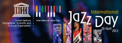 Join us for an International Jazz Day concert, live from Istanbul, Turkey today at 2:00PM EDT!  Held every year on April 30th, International Jazz Day brings together communities all over the world to celebrate jazz, learn about its roots, and highlight its important role in advancing intercultural dialogue and understanding.  Hosted by UNESCO Director-General Irina Bokova, UNESCO Goodwill Ambassador and jazz legend Herbie Hancock, the Republic of Turkey, and the Thelonious Monk Institute of Jazz, join us for a star-studded event to celebrate jazz as a universal language of freedom! The live concert at Istanbul's famed Hagia Irene will feature performances by stellar musicians from around the world, including pianists John Beasley, George Duke, Robert Glasper, Herbie Hancock, Ramsey Lewis, Keiko Matsui and Eddie Palmieri;  vocalists Al Jarreau, Milton Nascimento,  Dianne Reeves, Esperanza Spalding, Rubén Blades, and Joss Stone;  trumpeters Terence Blanchard, Hugh Masekela,and Imer Demirer;  bassists James Genus, Marcus Miller, and Ben Williams;  drummers Terri Lyne Carrington and Vinnie Colaiuta;  guitarists Bilal Karaman, John McLaughlin, Lee Ritenour and Joe Louis Walker;  saxophonists Dale Barlow, Igor Butman, Branford Marsalis, Wayne Shorter and Liu Yuan;  clarinetists Anat Cohen and Hüsnü Şenlendirici;  violinist Jean-Luc Ponty;  tabla master Zakir Hussain;  trombonist Alevtina Polyakova;  Pedro Martinez on percussion, and other special guests.  John Beasley will be the event's musical director.