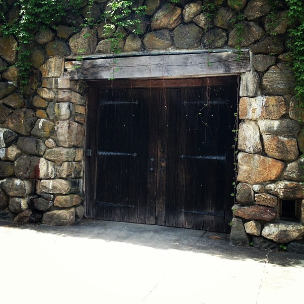 Favorite doors at Stone Barns.