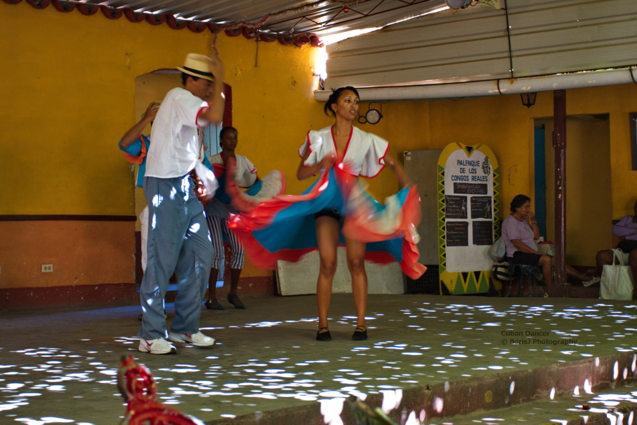 Cuban Dancer Cuban Dancers showing their art in Trinidad. Canon EOS 40D1/30sISO 400f/4 Trinidad,Cuba Flickr - Twitter - Facebook - Google+ - Posterous - 500px Copyright © BorisJ Photography - Boris Jusseit - all rights reserved - please do not use this image on any media without my permission.