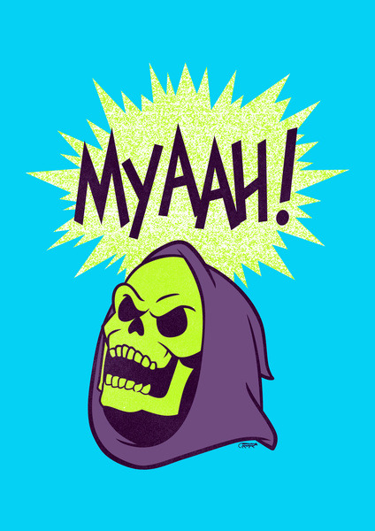 Myaah! - by Andrew Bargeron Prints available at Society6 Artist: Tumblr || Twitter || Facebook || Redbubble