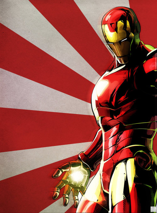 herochan:  Iron Man  Created by Nicoll Earl Bustamante  Tumblr || DeviantArt || Flickr (via: assorted-goodness)