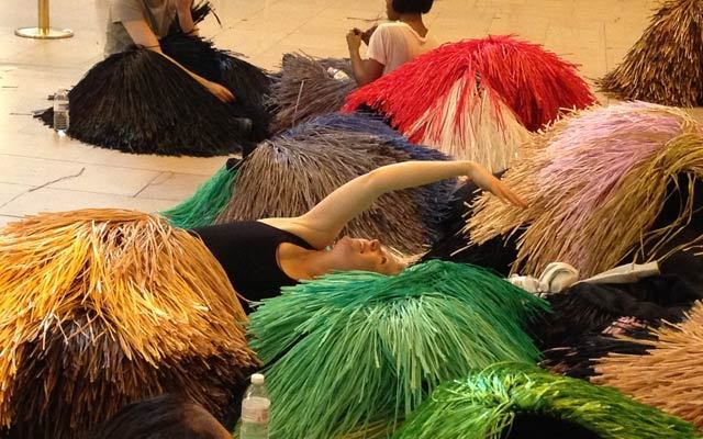 creativetime:  Volunteers needed for Nick Cave's HEARD•NY in Grand Central Terminal, March 25-31. (Training March 24.)More details: http://creativetime.org/projects/heard-ny/volunteer/  Nick Cave's HEARD•NY in Grand Central Terminal, presented by AFT and Creative Time, is so soon! If you would like to volunteer, find out more details here!