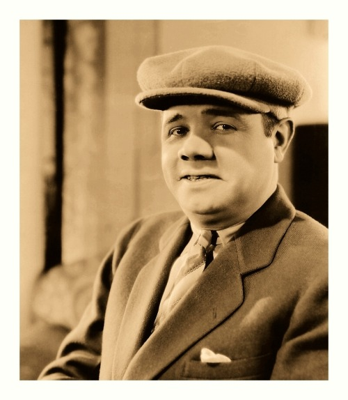 "Dapper Babe Ruth Poses For The Camera (1927) ""Babe Comes Home"" Studio Publicity Picture #92-25P"