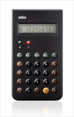 Braun Reissues A Dieter Rams Design Classic: The ET 66 Calculator (Co.Design)