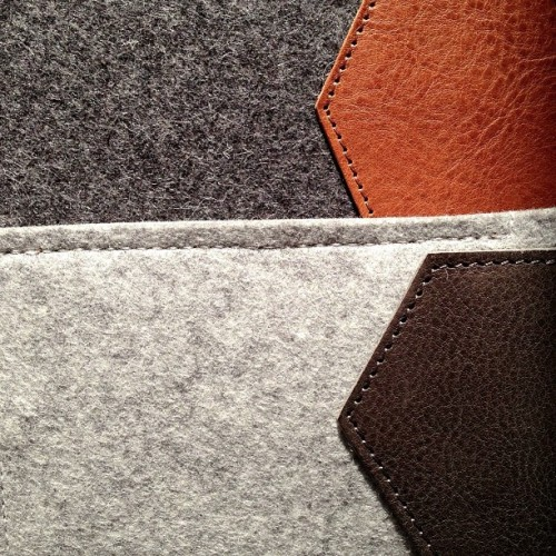Wool & leather #juxtapose #hardgraft