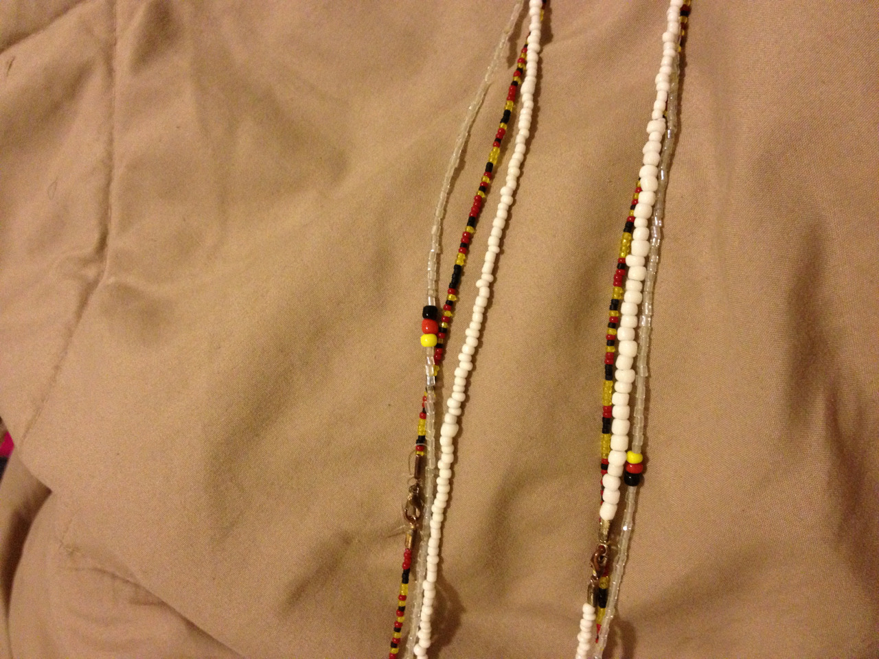 ebonyheart:  I make waist beads email me to order ebony.heart90@gmail.com