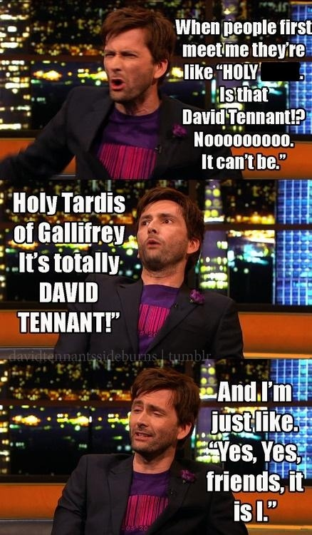 iloveyoustupidface:  HOLY TARDIS OF GALLIFREY HAHAHAHAHA  Yeah that was pretty much my reaction. Except I saw him in Morrisons coming out to the car park but he seemed in a rush so I decided to be nice and not bother him. I still kinda regret that…