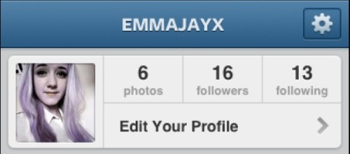New to Instagram follow me x