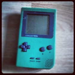 Omgg #found #it #old #gameboy #still #works #black #green