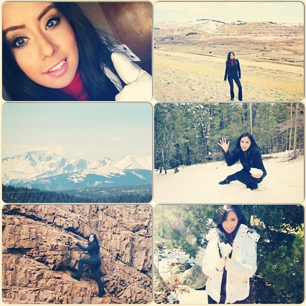 A few pictures from my trip ☺ #Traveling #colorado #southpark #mountain #snow #selfie #bestoftheday