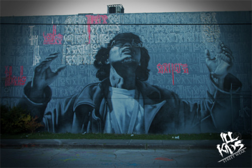 grafflicks:  Miami Graffiti by El Mac and Retna / Foto by TIZOKER for www.ILLKIDSSTREETWEAR.com