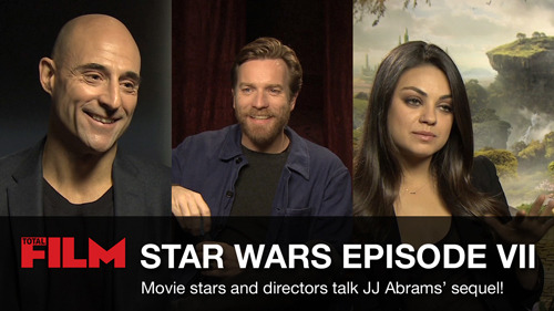 Exclusive Video: Joss Whedon, Ewan McGregor and more talk Star Wars Episode VII Star Wars Episode VII is pretty much all we think about at totalfilm.com.  So, for the past few months, we've been asking every movie star we've met what they think of the franchise, and whether they'd like to be in the new film…
