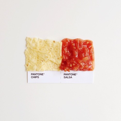 exhali:  dschwen:  Chips & Salsa #pantonepairings  queued
