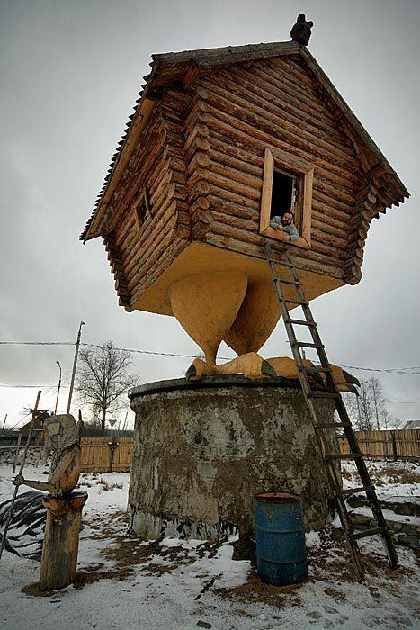 superpunch2:  Chicken-legged house.