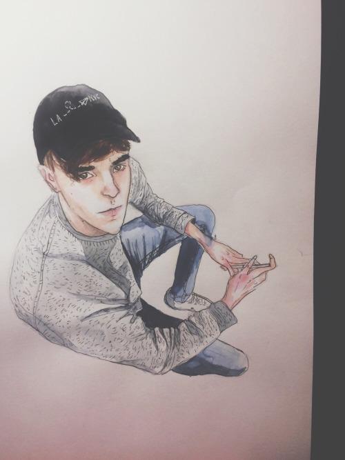 connor franta drawing | Tumblr