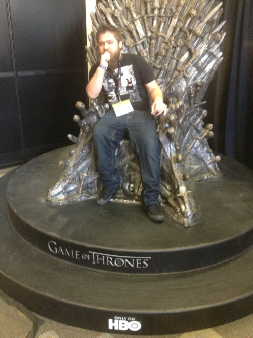 The Iron Throne is mine!!!