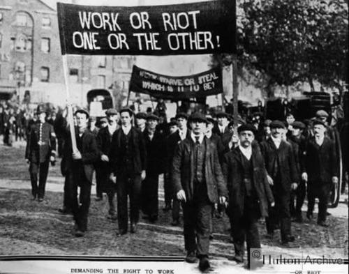 fuckyeahanarchistbanners:  Work or Riot, One or the Other! && Work - Starve or Steal, Which Is It To Be? // London, UK // 1908