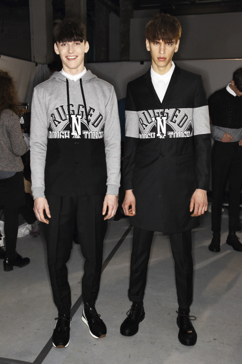 Kris Van Assche AW13 He just always gets it right, effortlessly casual and tailored to perfection.